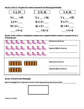 Common core math 4th grade division worksheets