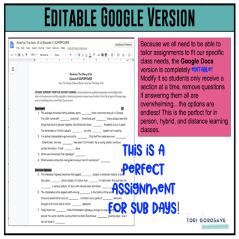 America the story of us episode 11 worksheet answers