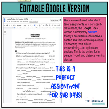 America the story of us episode 10 worksheet answers