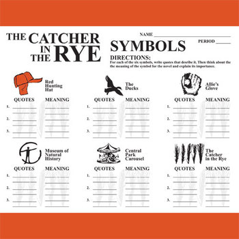 essay on symbolism in catcher in the rye Symbolism in the catcher in the rye 2 pages 621 words january 2015 saved essays save your essays here so you can locate them quickly.