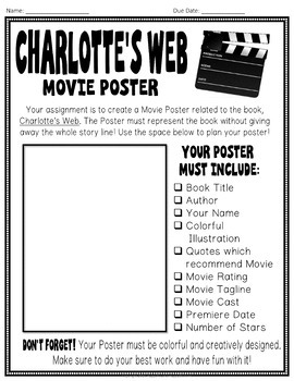 Create a movie poster assignment