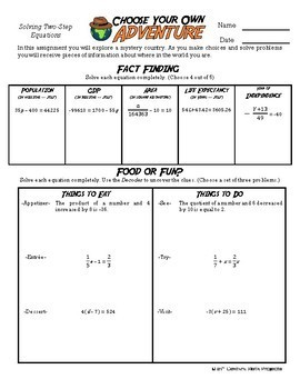 Algebra with pizzazz worksheet answers page 150