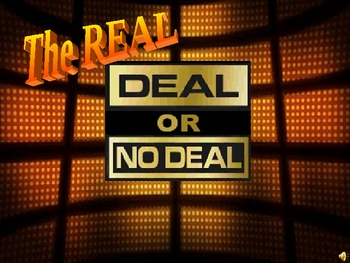 Deal Or No Deal Powerpoint Game Template