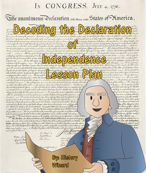 Declaration of independence worksheets for 5th grade
