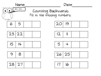Counting worksheets 1 100 pdf