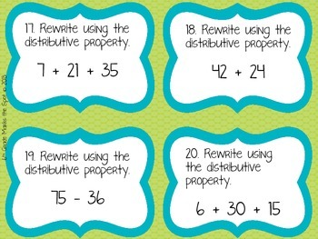 Distributive property worksheets pdf
