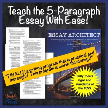 Teaching 5 paragraph essay