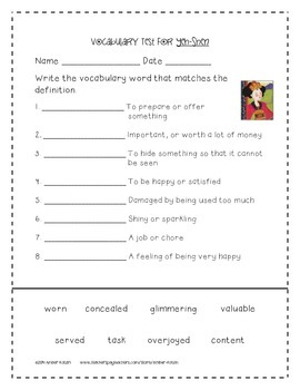 Act worksheets pdf