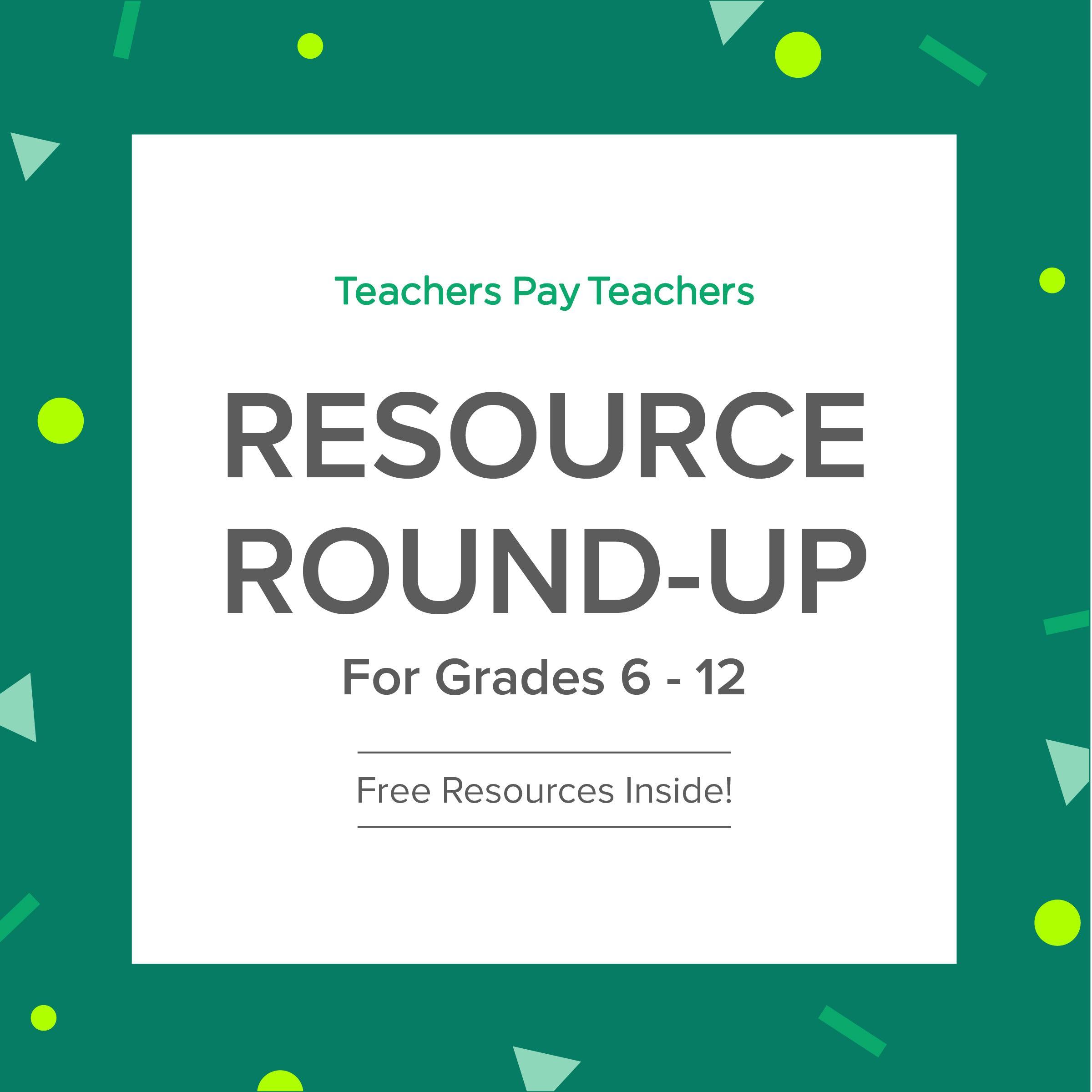 Resource Round-Up