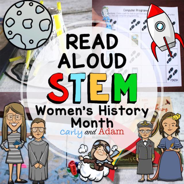 Explore Women's History Month Through STEM Read Alouds