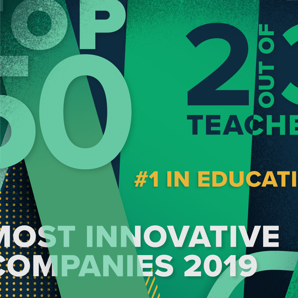 TpT Named #1 Most Innovative in Education by Fast Company