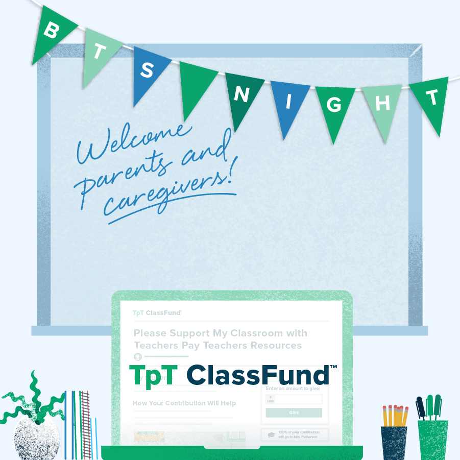 Share your TpT ClassFund™ With Parents and Caregivers
