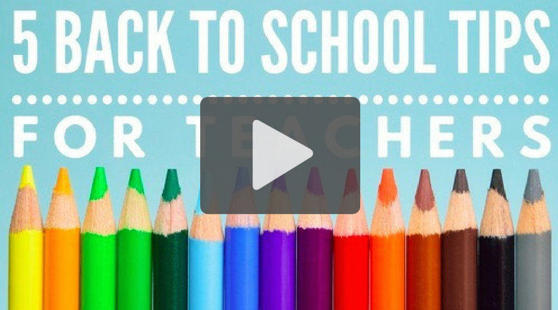5 Self-Care Tips for Back to School