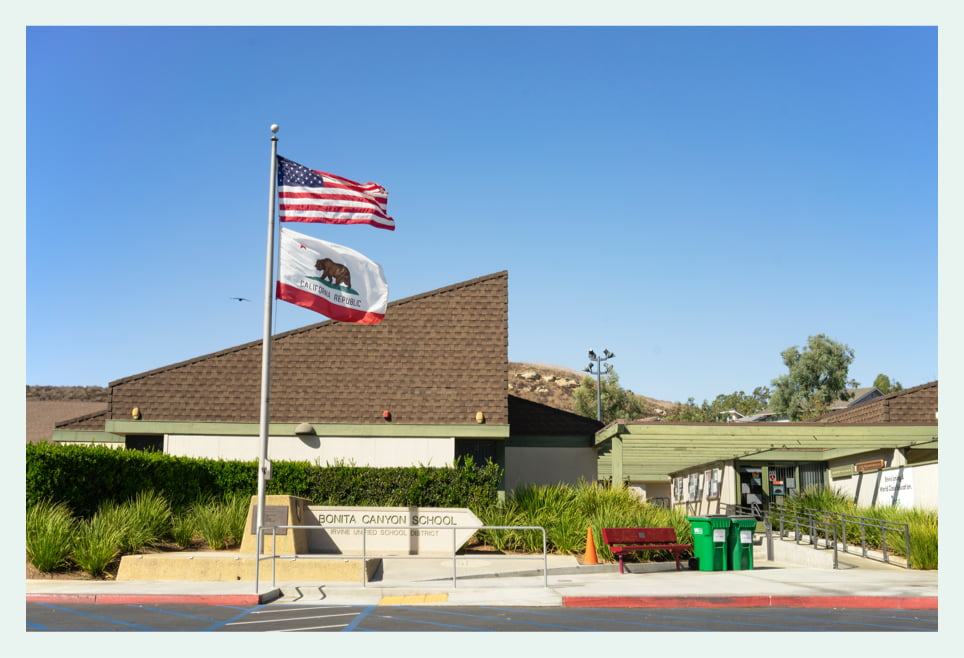 Bonita Canyon School building