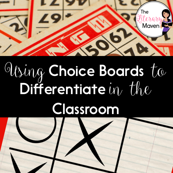 Try Choice Boards for Differentiation!