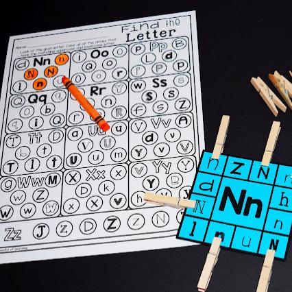 Fun Alphabet Center Activities!