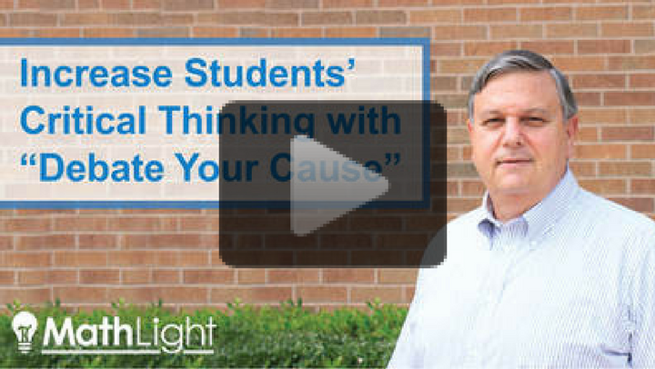 Increase Students' Critical Thinking Skills in Math