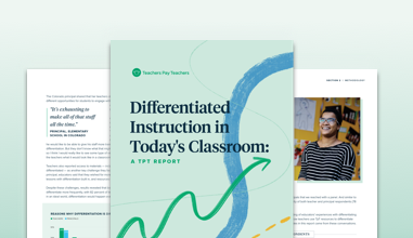 Preview of report on differentiation in schools.