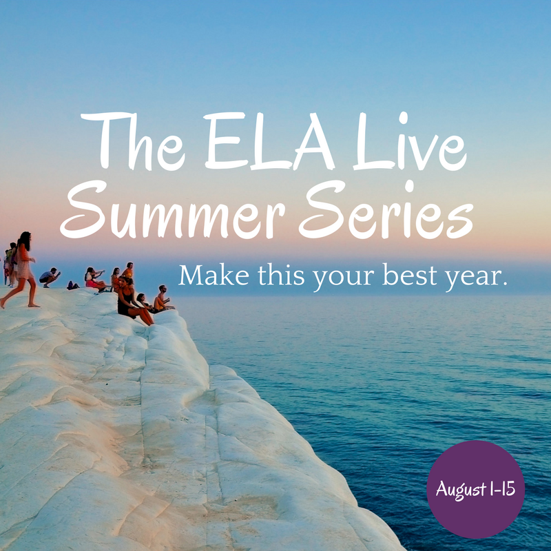 ELA Live Series: Get Ready for Your Best Year Yet