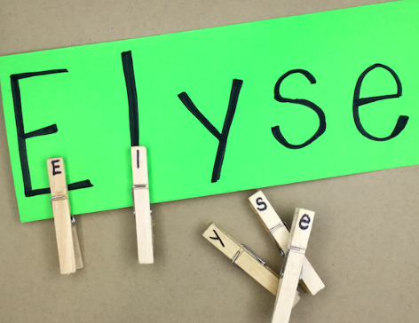 Do-It-Yourself Name Activities