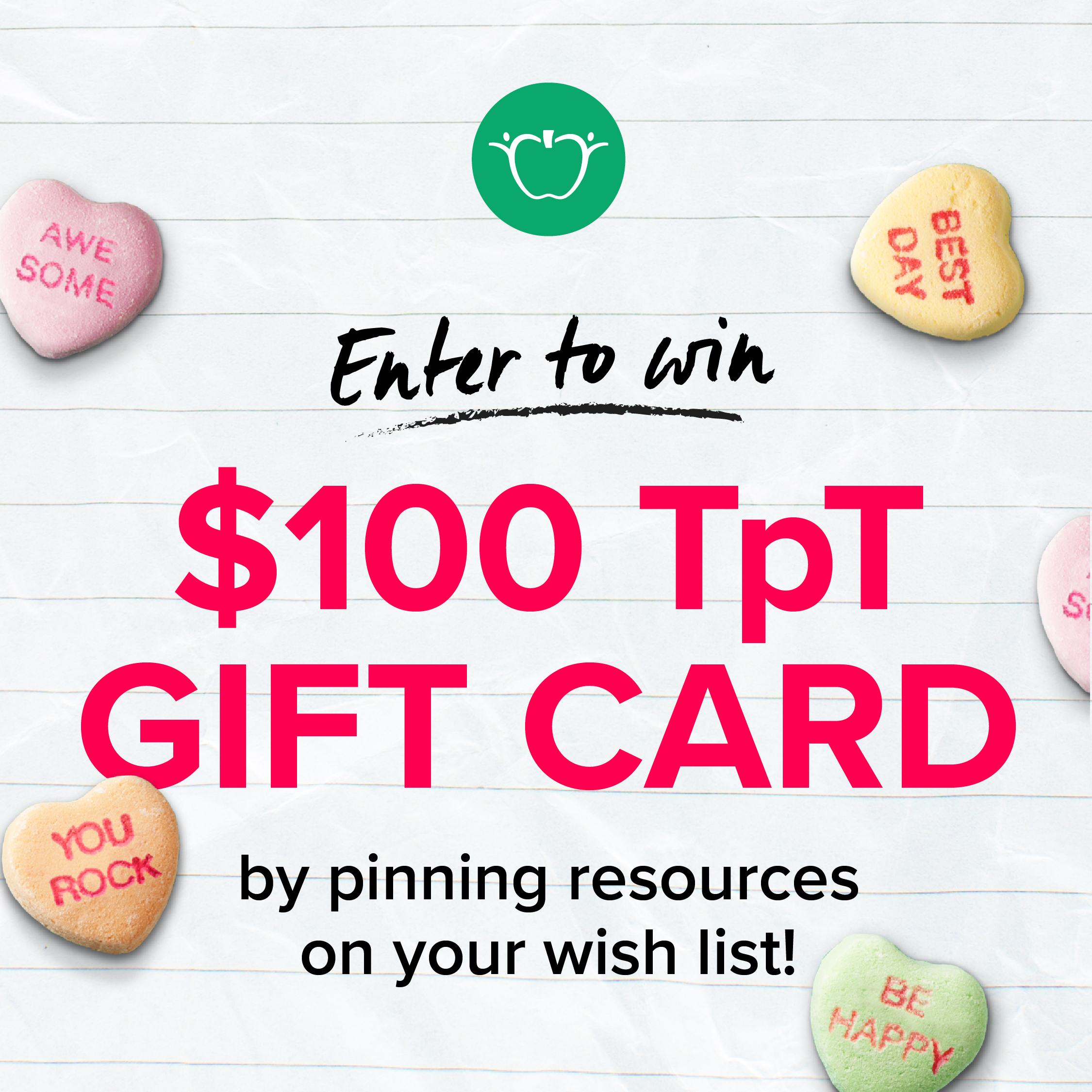 Pin for the Chance to Win!