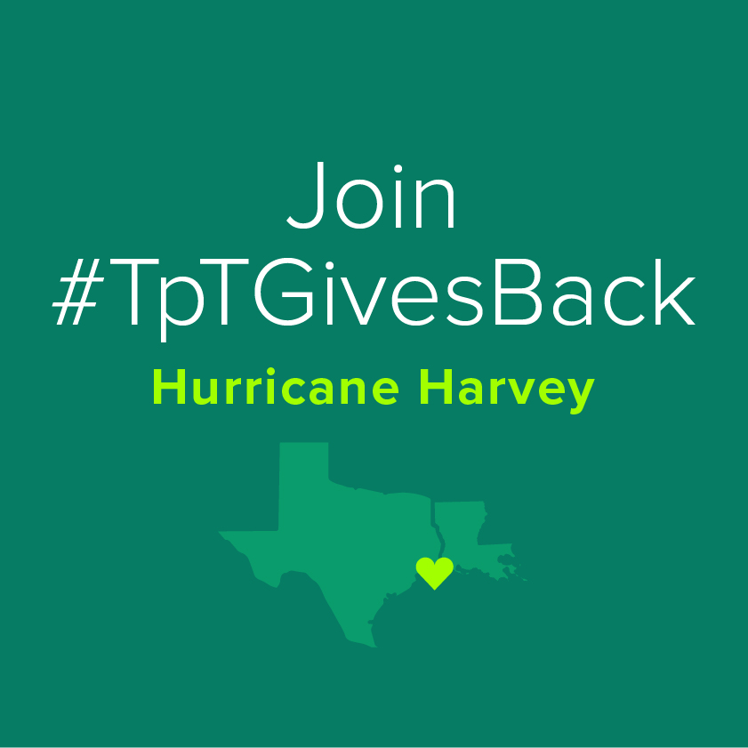 Join #TpTGivesBack and Support Gulf Coast Teachers