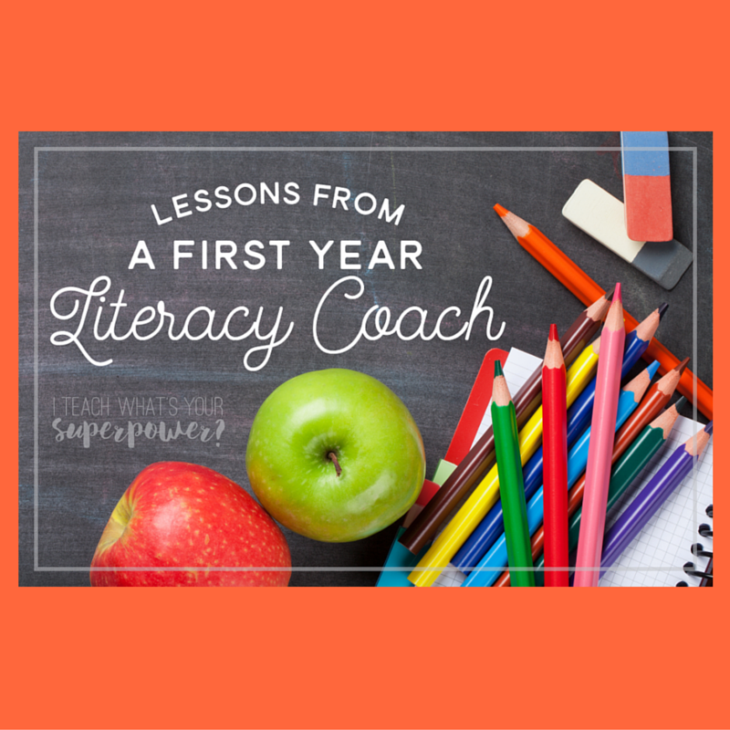 Lessons from a First Year Literacy Coach
