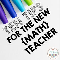 10 Tips for the New Teacher