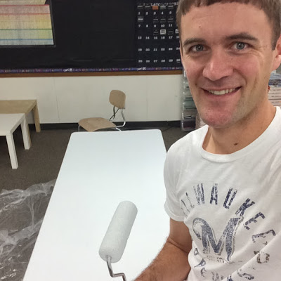 How I Created My Own Dry-Erase Table
