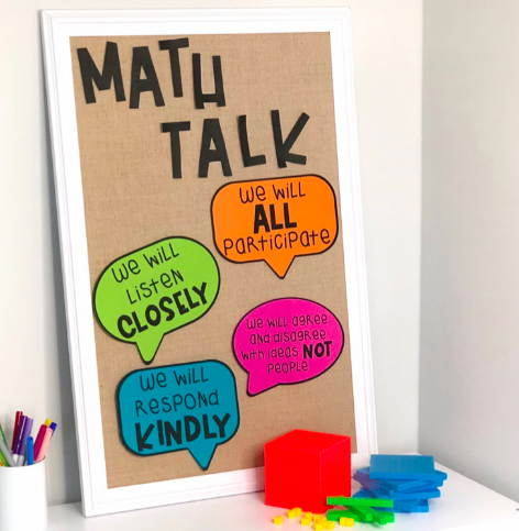How to Use Math Talk to Transform Your Math Block