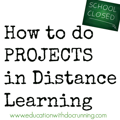 Why Projects ARE for Distance Learning