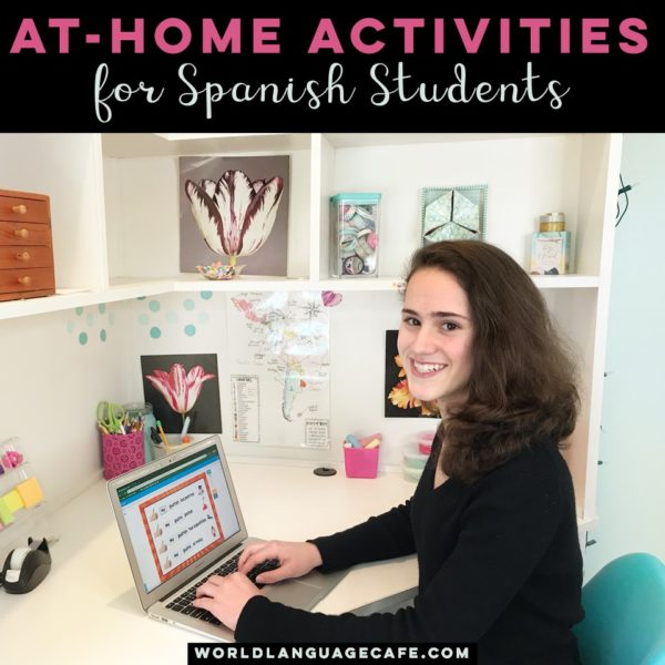 Online Spanish Activities for Students at Home