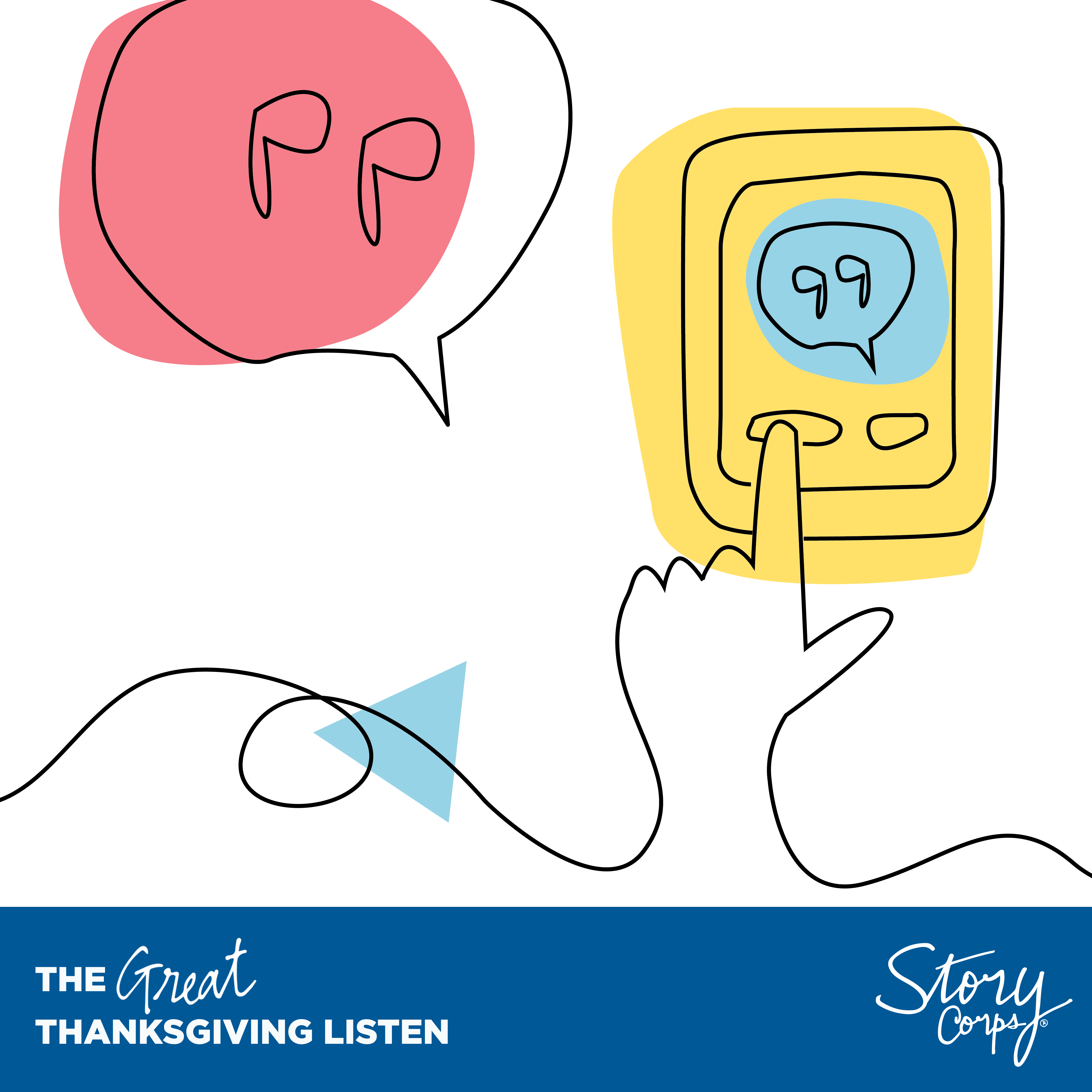 Free Toolkit for StoryCorps' The Great Thanksgiving Listen