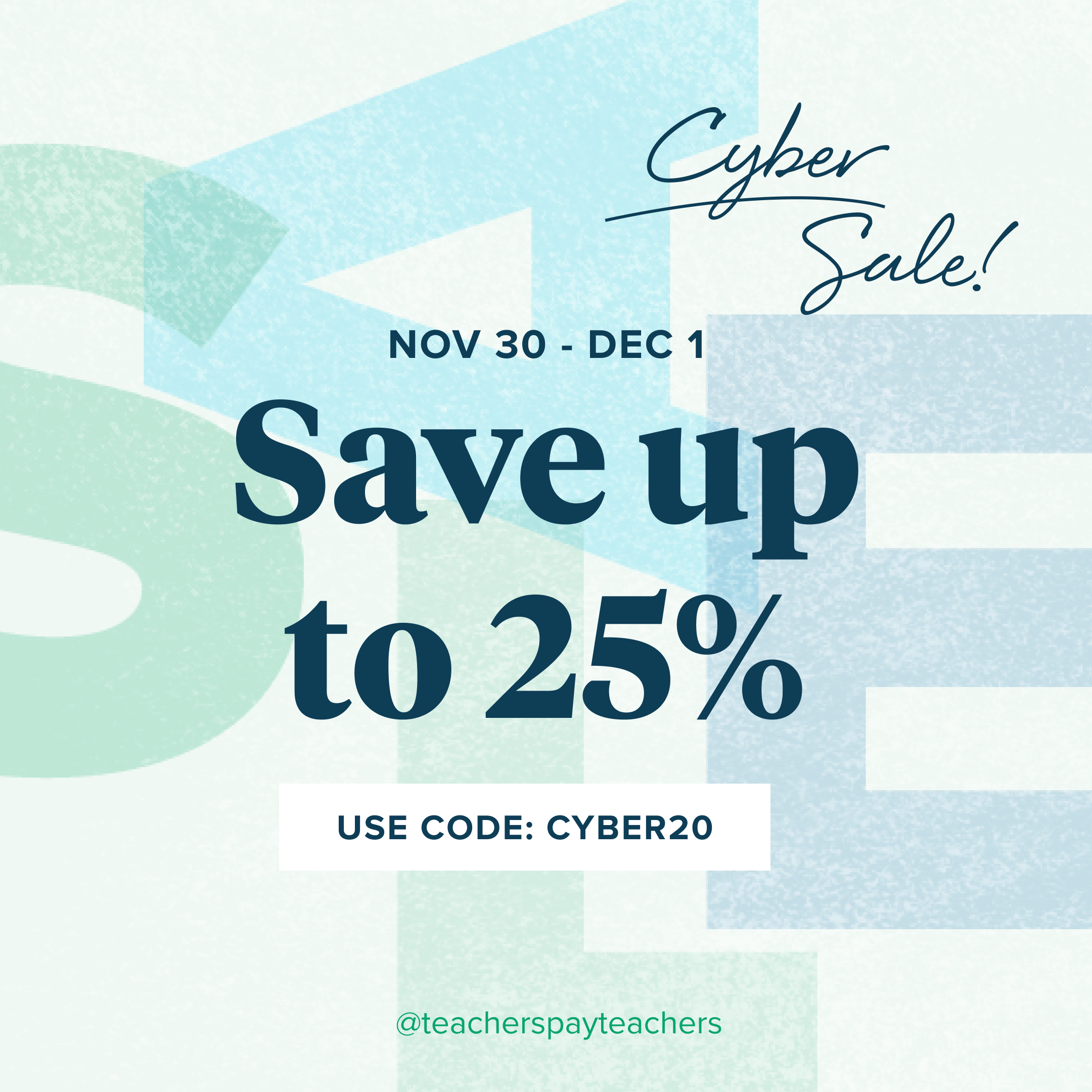 Heads Up: TpT's Cyber Sale Starts Tomorrow