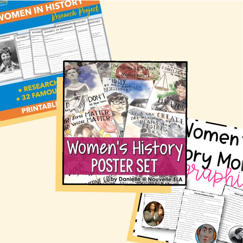 Women's History Month: Teaching Resources for March and Beyond