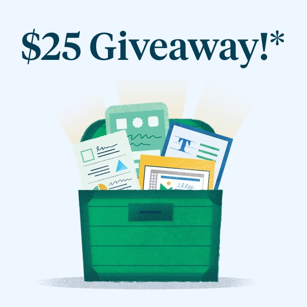 It's a $25 TpT Gift Card Giveaway!