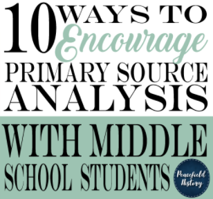 Primary Source Strategies for Your Classroom