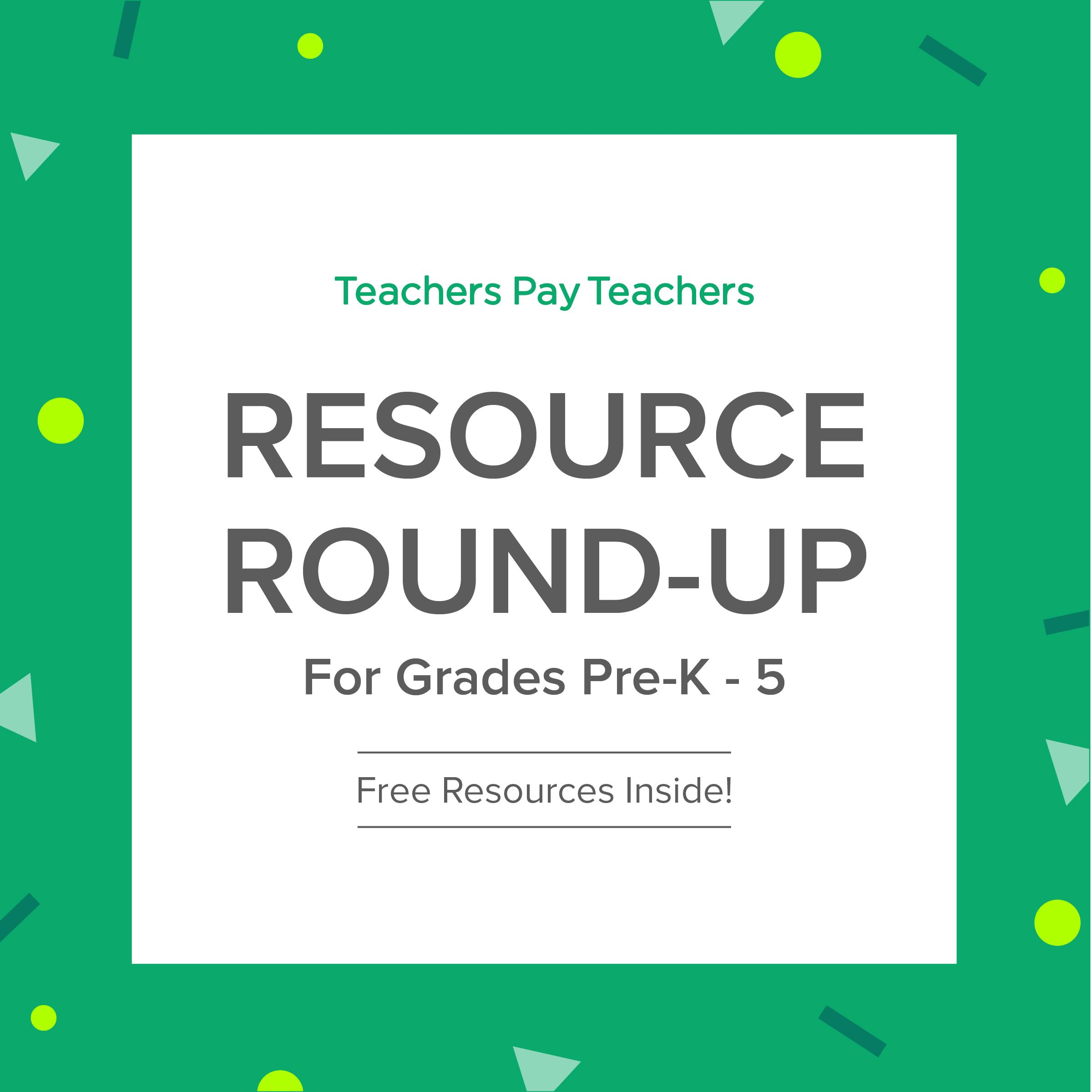 Resource Round-Up: Many Are Free!