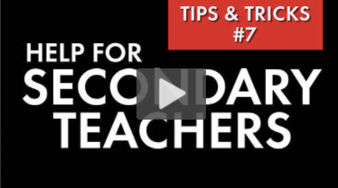 Secrets for Classroom Success