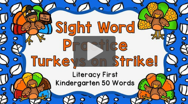 Sight Words for the Season