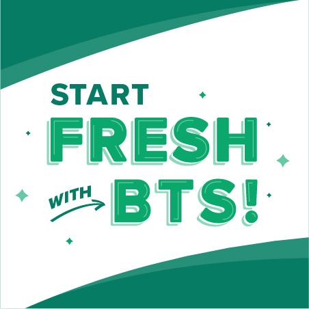 Start Fresh With BTS