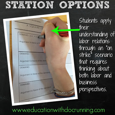8 Steps to Stations in the Secondary Classroom