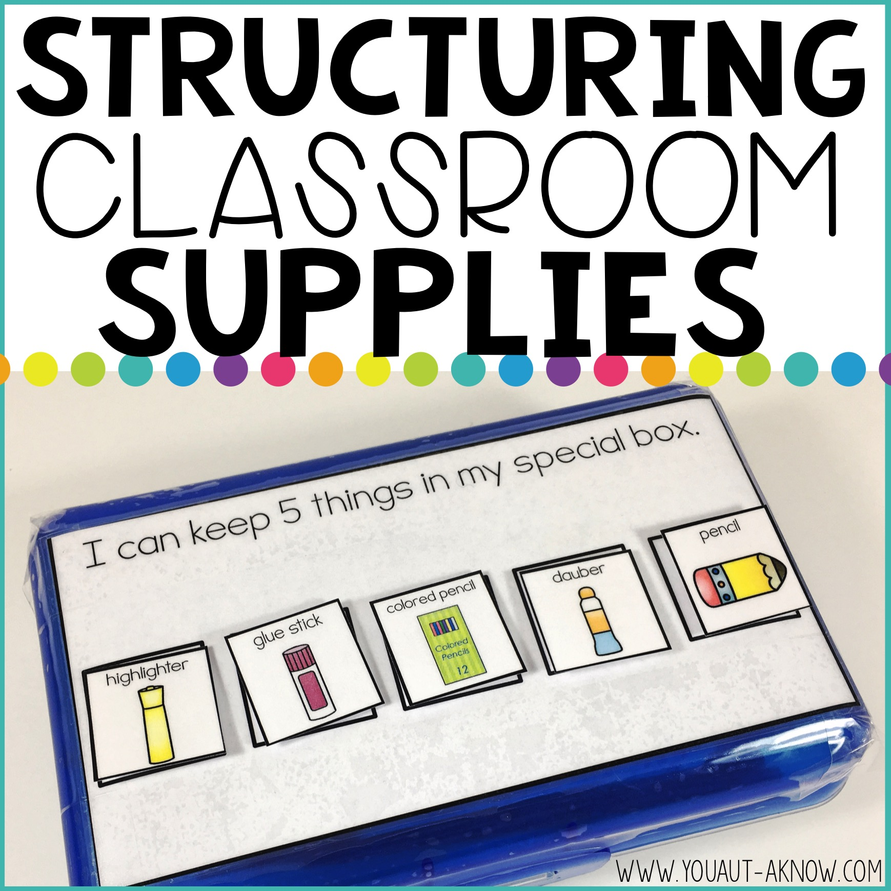 How to Give Your Classroom Supplies (Like Pencil Boxes) Some Structure