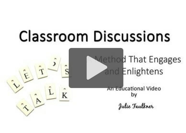 Improve Classroom Discussions