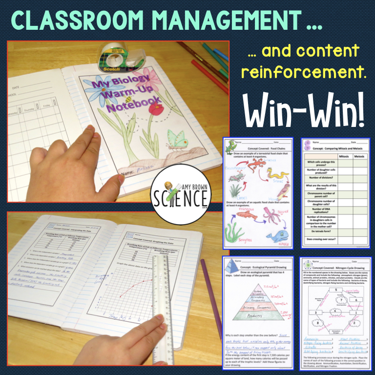 Classroom Management and Content Reinforcement: Win-Win!