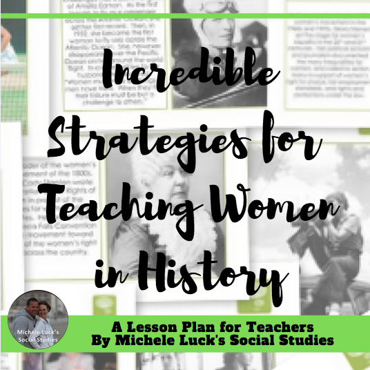 Teaching Women's History Month in Secondary