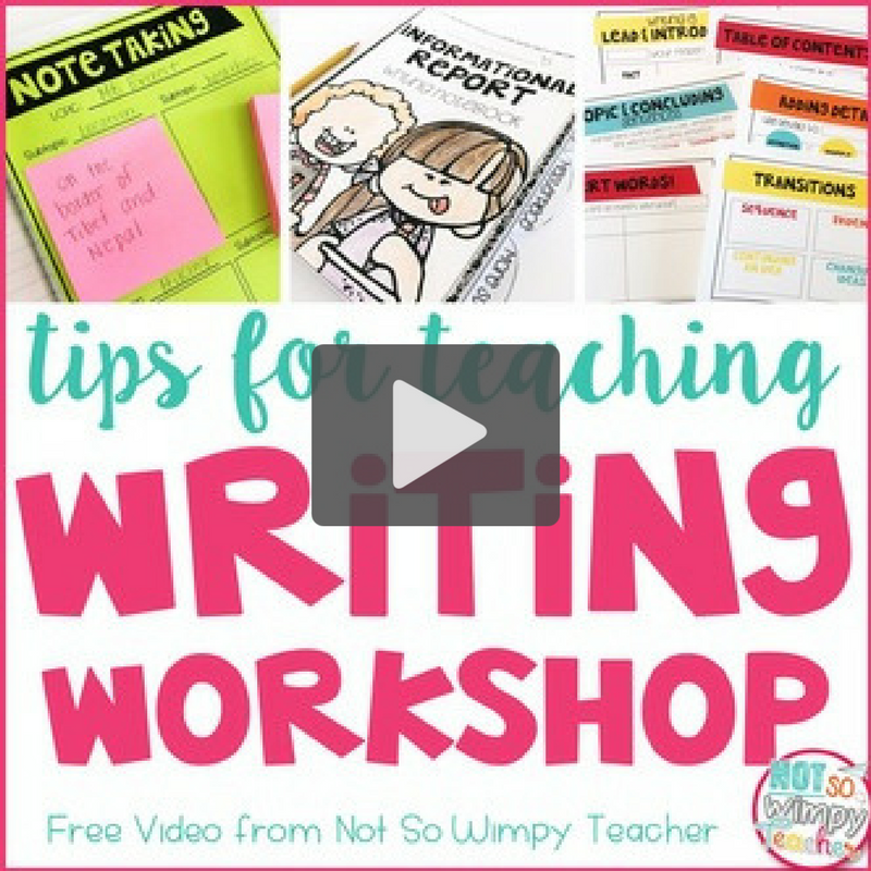 Tips for Successful Writing Workshops