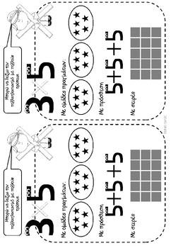 Β' τάξη - Μαθηματικά - 3η ενότητα - αριθμητικά μοτίβα - εισαγωγή πολλαπλασιασμός