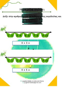 Μαθηματικά-Α' τάξη-Πρόσθεση αριθμών