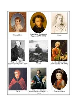 Имена полные и краткие